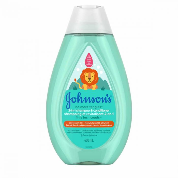 Johnsons No More Tangles 2-In-1  (13.6 Oz)
