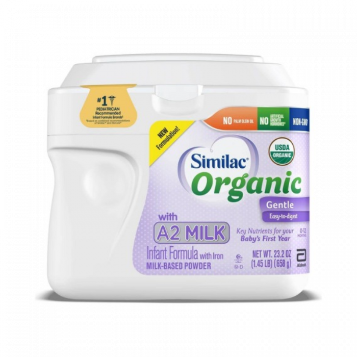 Similac Organic Gentle A2 Powder (23.2 Oz)