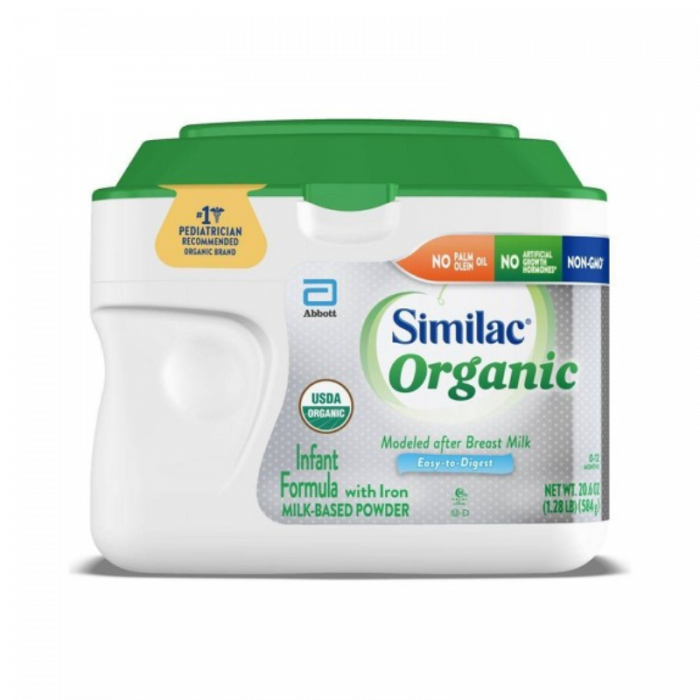 Similac Organic Powder (20.6 Oz)