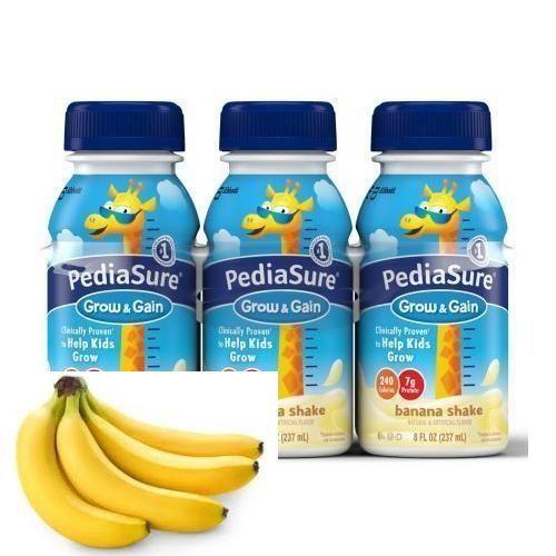 Pediasure Banana 8 Oz (4 X 6 Pack)