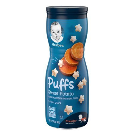 Gerber Puffs Sweet Potato Cereal Snacks  (6 X 1.48 Oz)