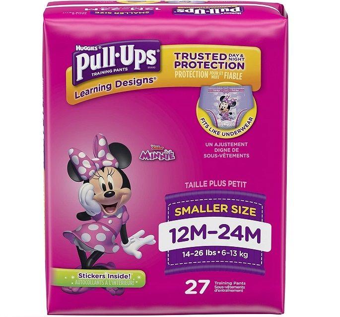 Huggies Pull Ups Girls 12M-24M (27 Ct)