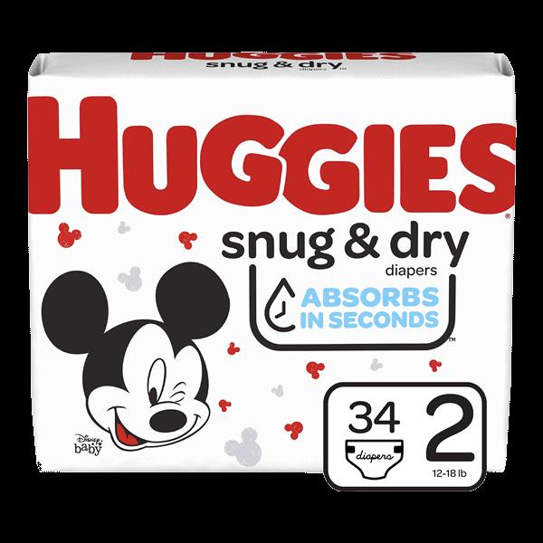 Huggies Snug & Dry Size 2