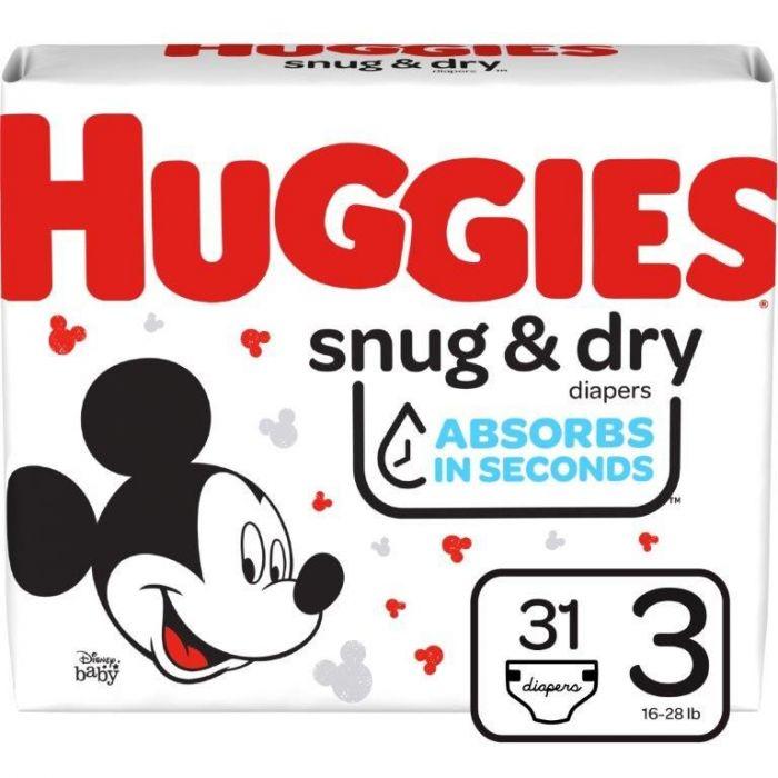Huggies Snug & Dry Size 3