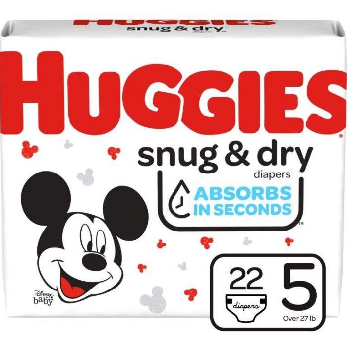 Huggies Snug & Dry Size 5