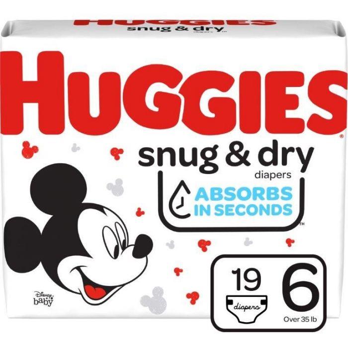 Huggies Snug & Dry Size 6