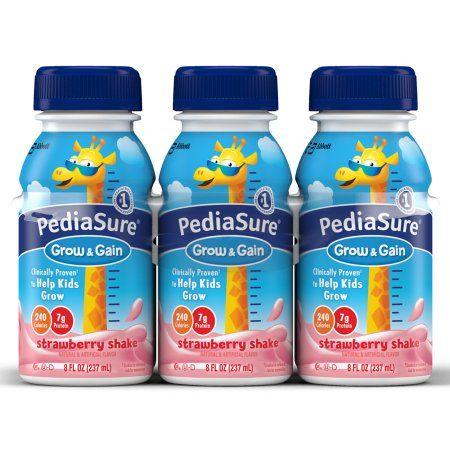 Pediasure Strawberry 8 Oz (4 X 6 Pack)