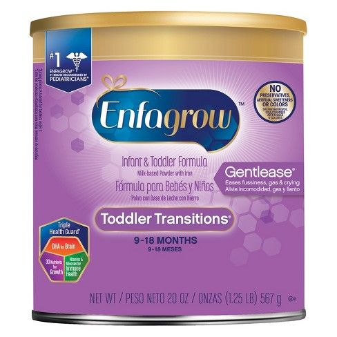 Enfagrow Gentlease Toddler Transitions  Powder (20 Oz)