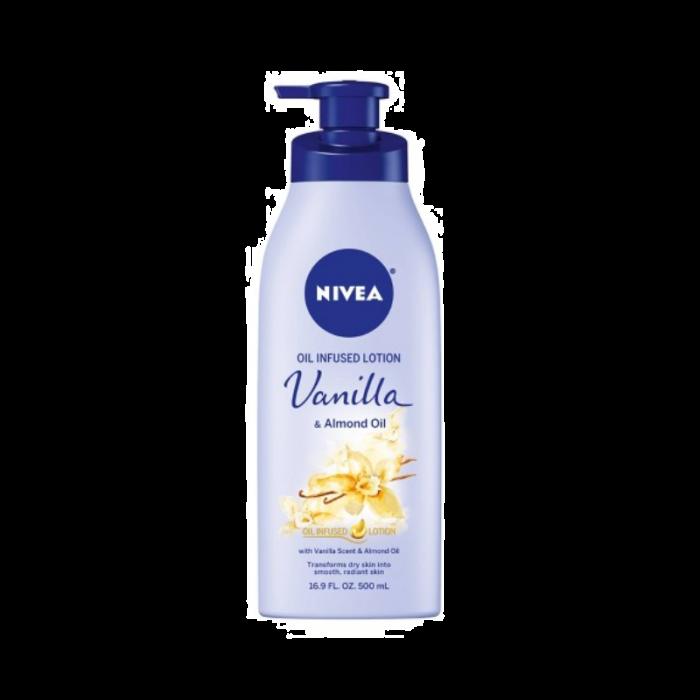 Nivea Oil Infused Lotion Vanilla & Almond Oil (16.9 Oz)