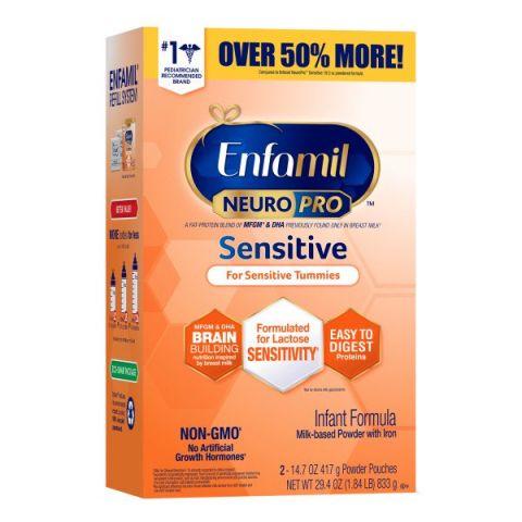Enfamil Neuropro Sensitive Refill Box (2 X 14.7 Oz)