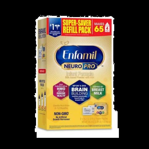 Enfamil Neuropro Infant Refill Box (2 X 18.2 Oz)